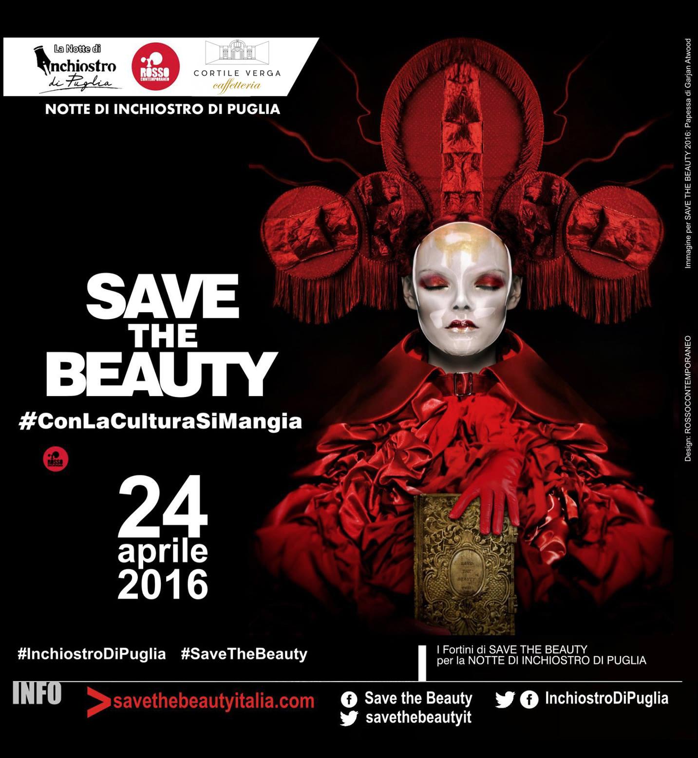 Save The Beauty a Cortile Verga
