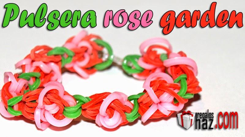 pulsera rose garden de gomitas