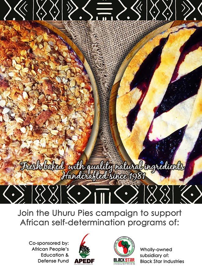 Order Uhuru Pies! Uhurupies.org