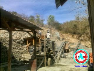 Perusahaan Pemecah Batu di Manggemaci Diduga Tak Berijin