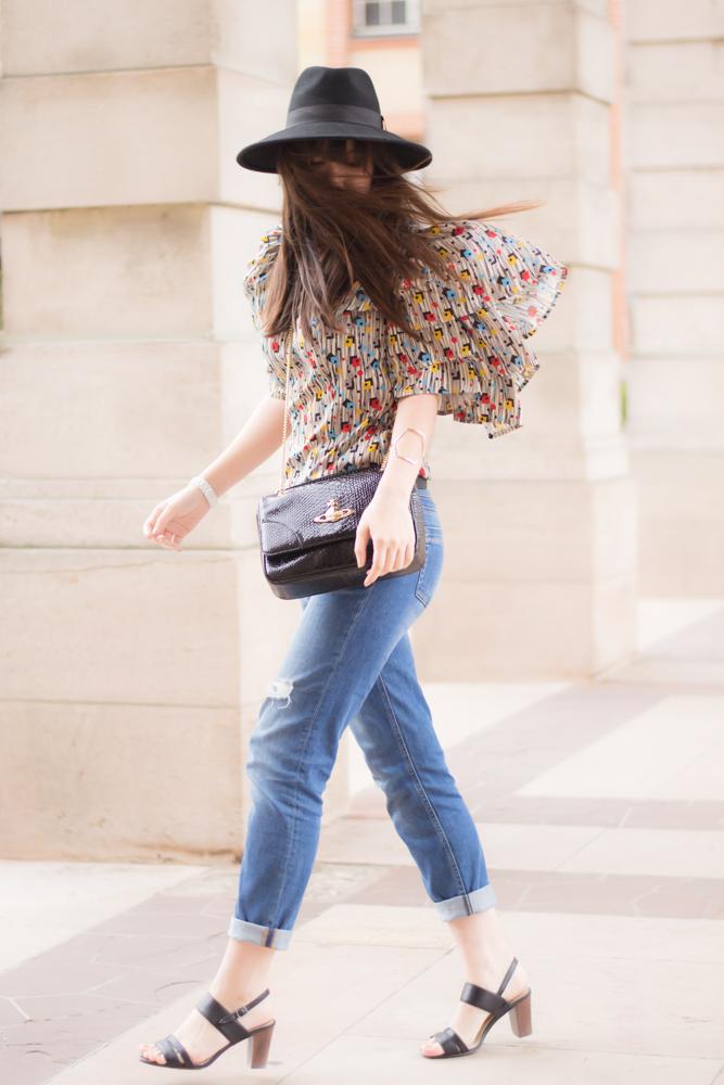 Fashion blogger