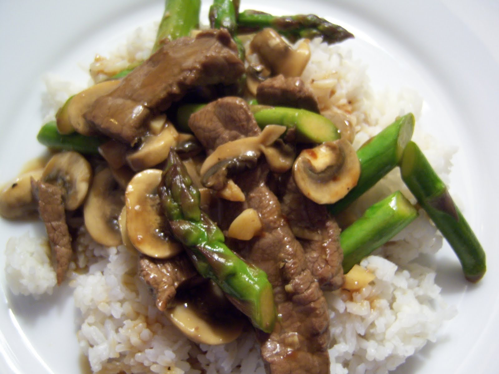 Mushroom Sriracha Stir Fry Recipes — Dishmaps