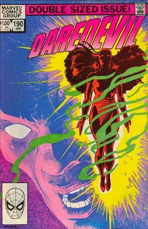 cover of Daredevil 190