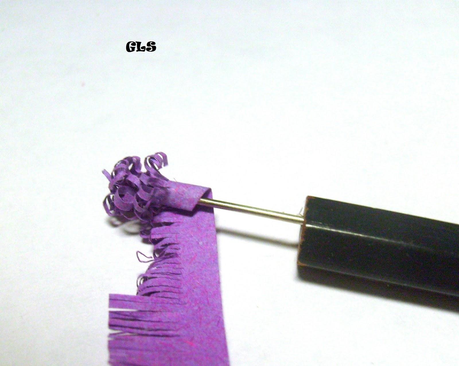 Как сделать цветы сирени из гофрированной бумаги