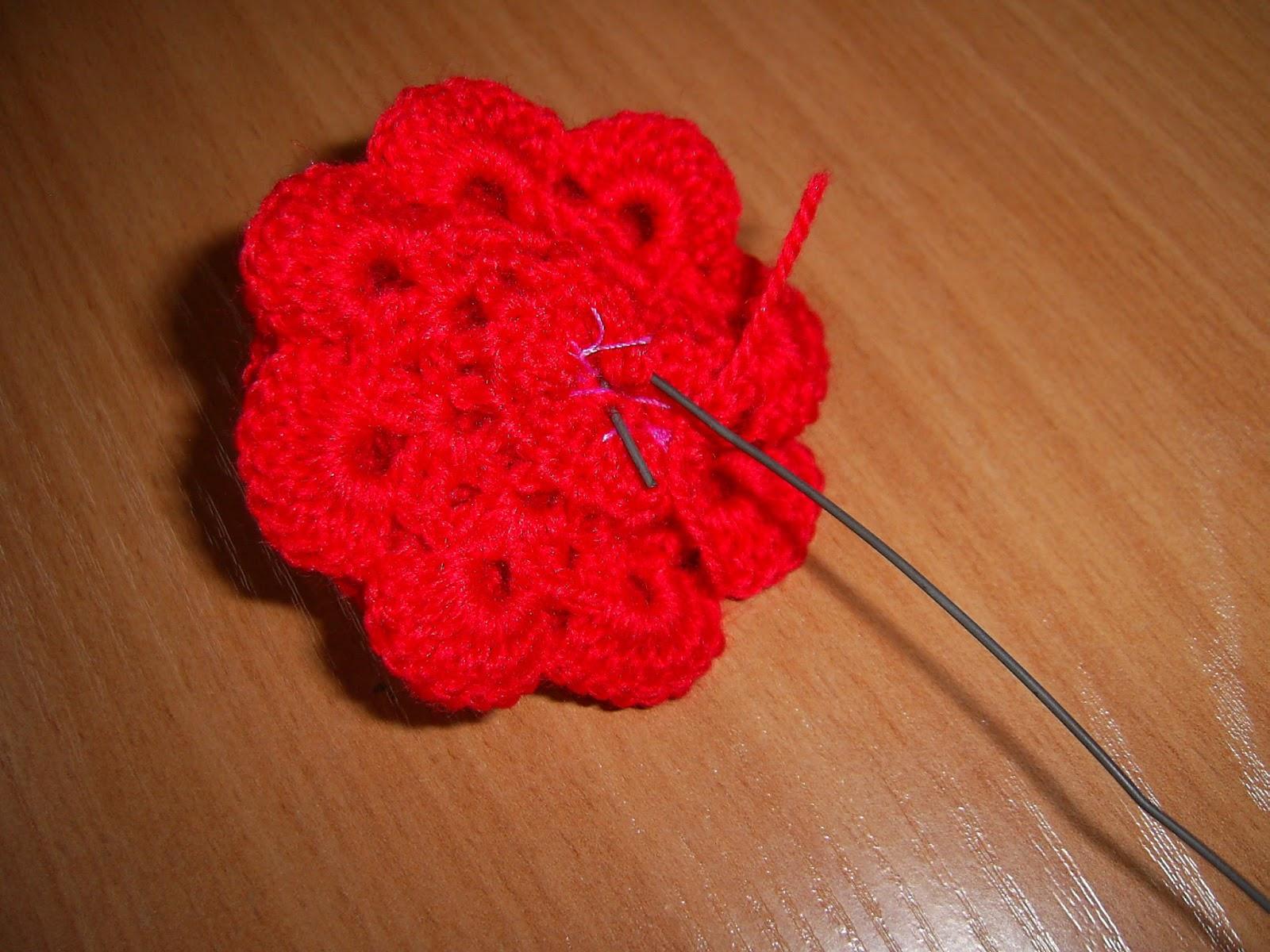 Вязание крючком роз мастер класс 89