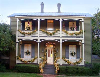 decoración balcones navidad
