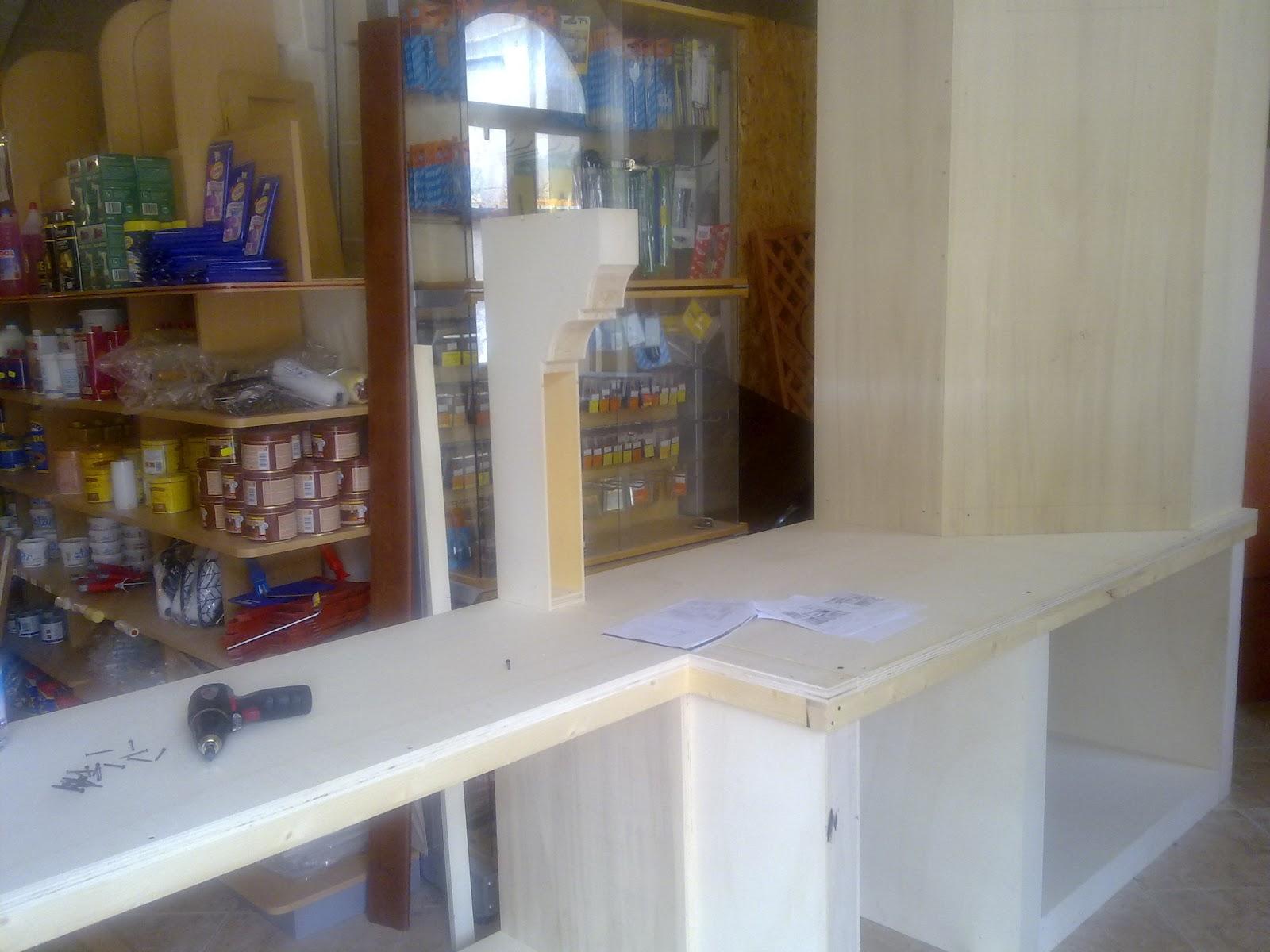 FAI DA TE HOBBY LEGNO: Cucina in finta muratura