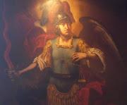 L'Arcangelo Michele, in armi.