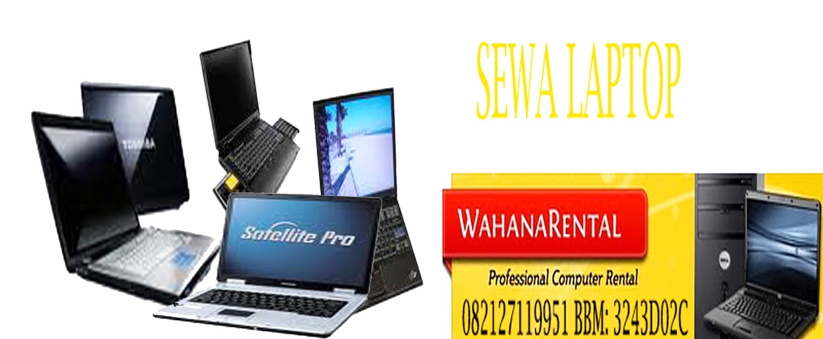sewa laptop, rental laptop, sewa notebook, rental notebook