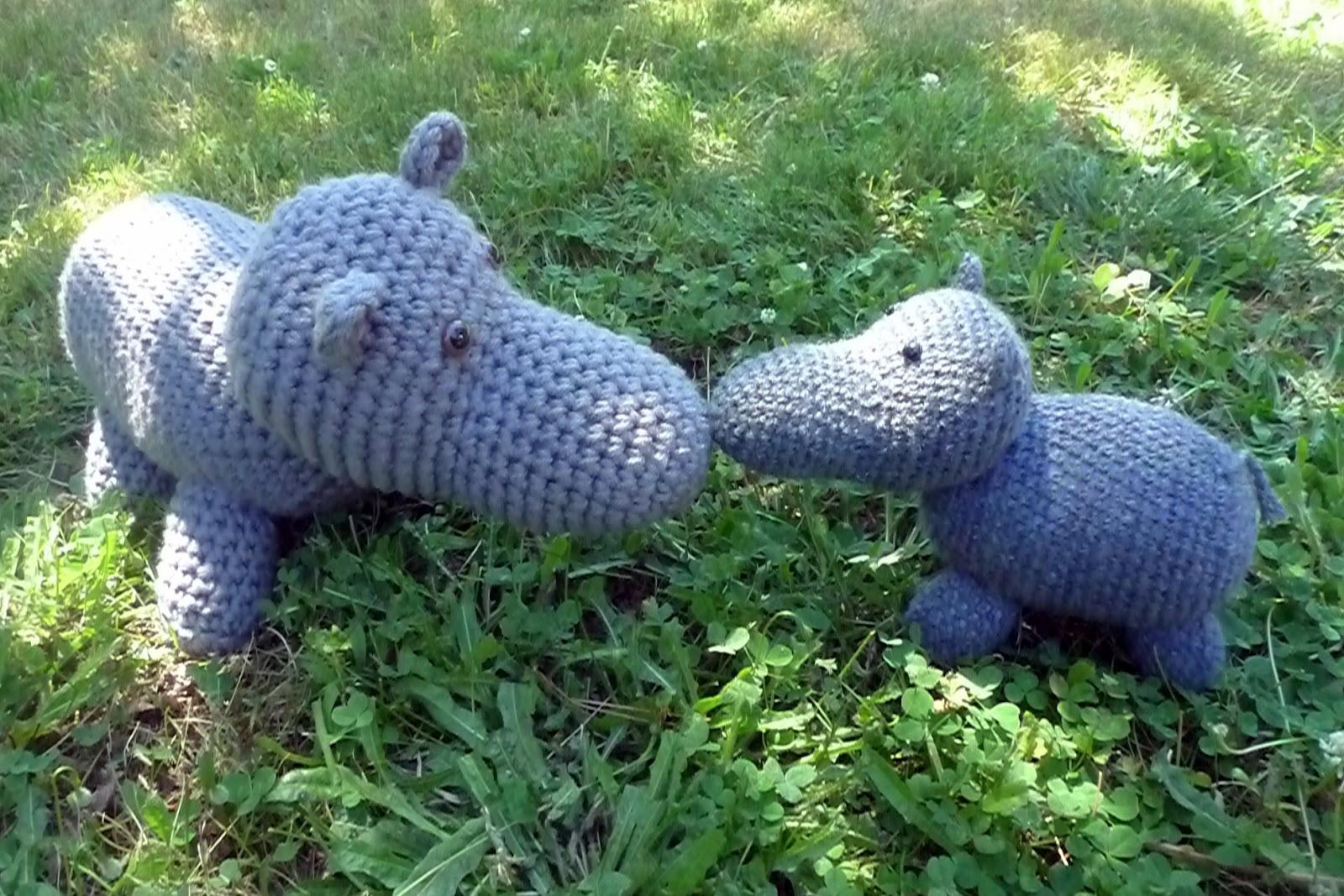 Amigurumi Heft : Tansy Dolls: Crochet Hippo Pattern