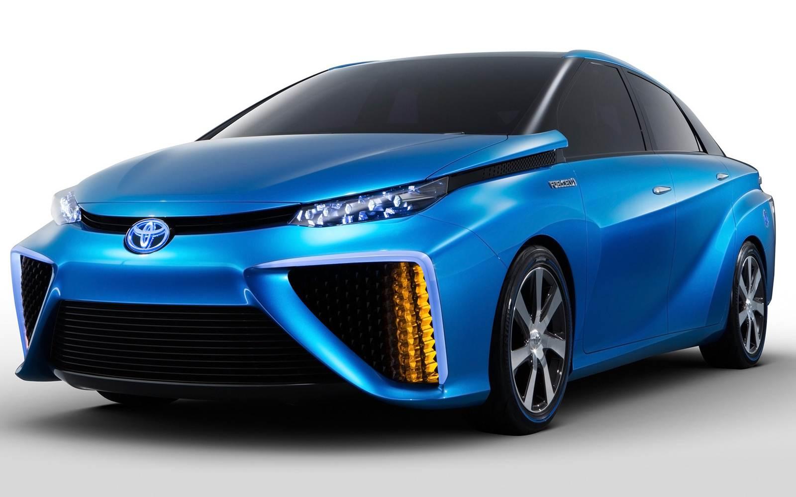 Toyota FCV - movido à hidrogênio