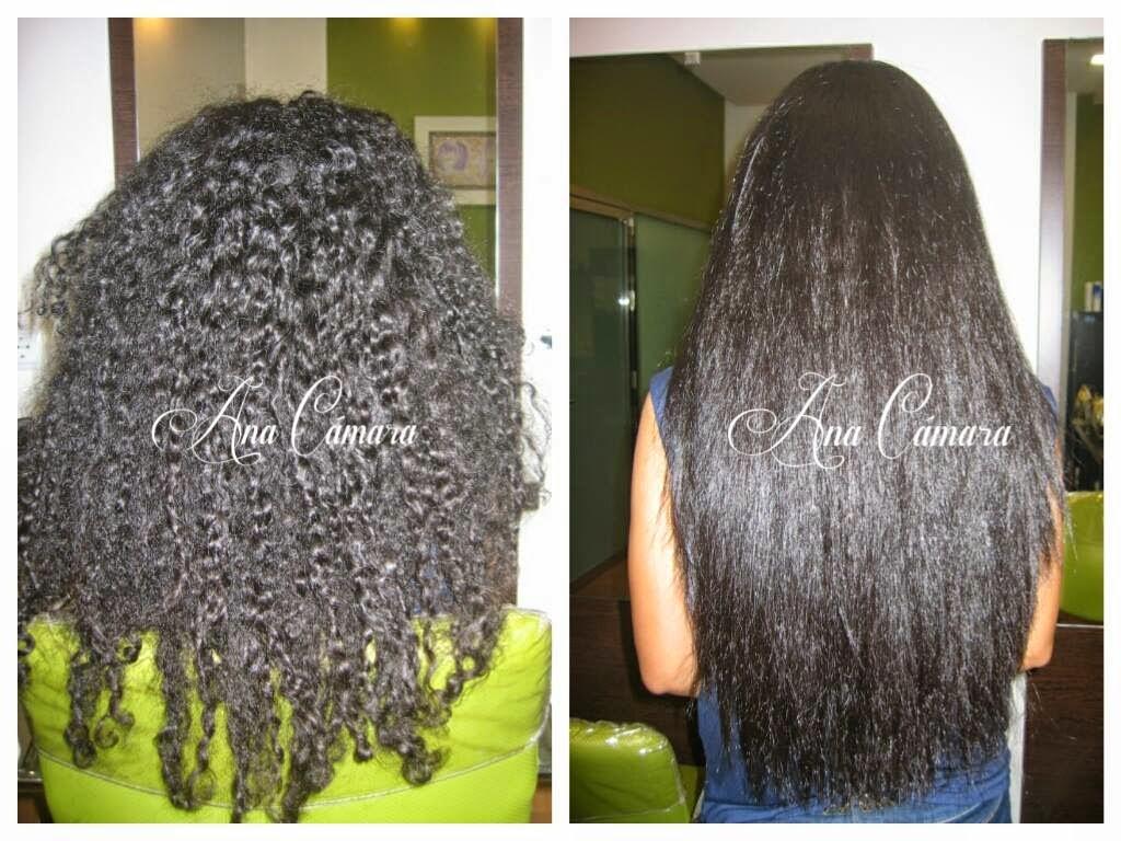 Tratamiento de queratina para el cabello rizado