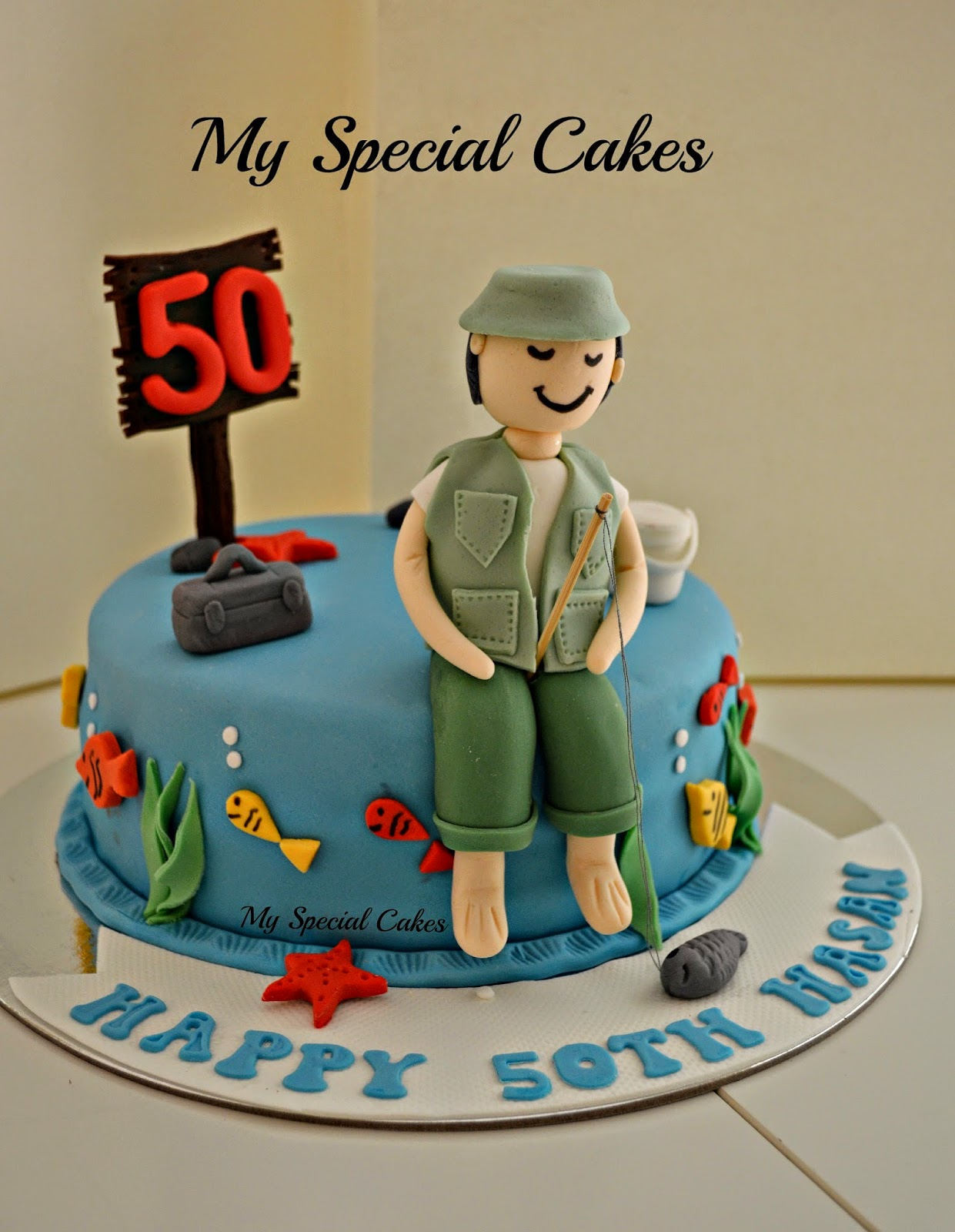 My Special Cakes Fisherman Cake