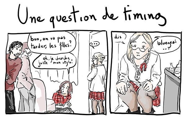 Une question de timing - la BD du jeudi