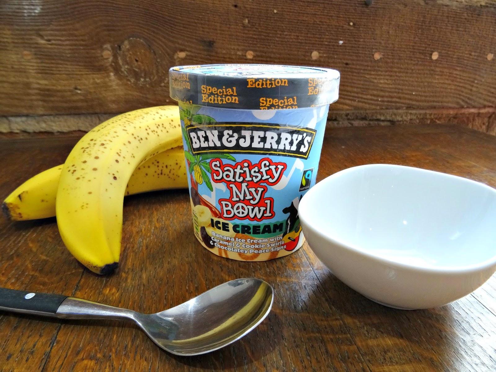 Satisfy my Bowl Ben and Jerry's Ice Cream