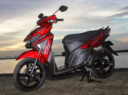 gambar Yamaha All New Soul GT 125 2015 warna Merah