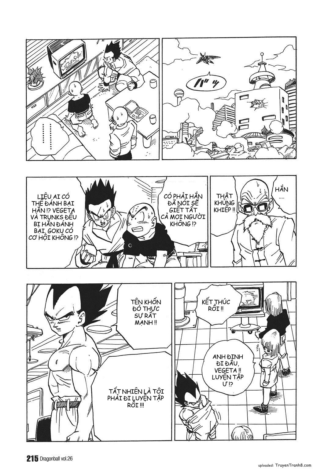 xem truyen moi - Dragon Ball Bản Vip - Bản Đẹp Nguyên Gốc Chap 389