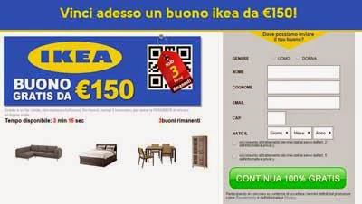 buono ikea da €150