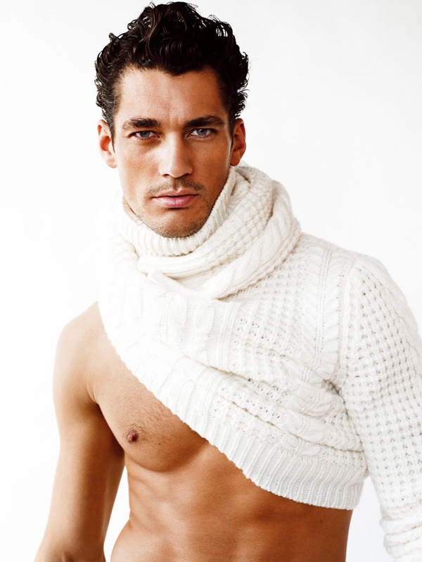 David Gandy Photographed By Mario Testino