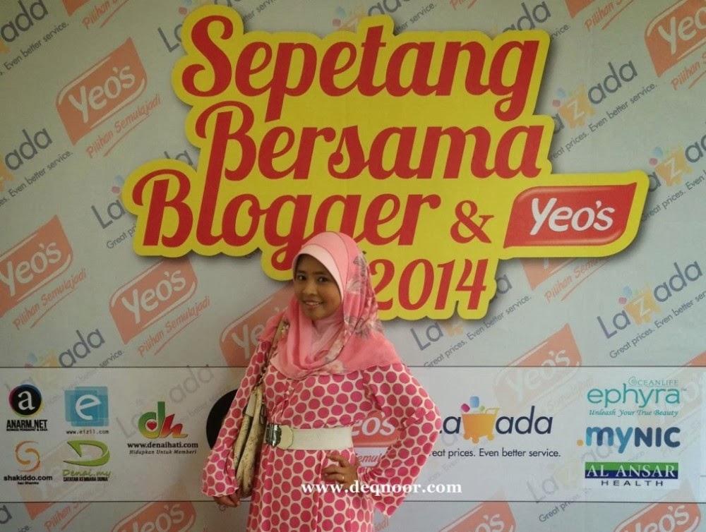 Sepetang Bersama Blogger Deqnoor
