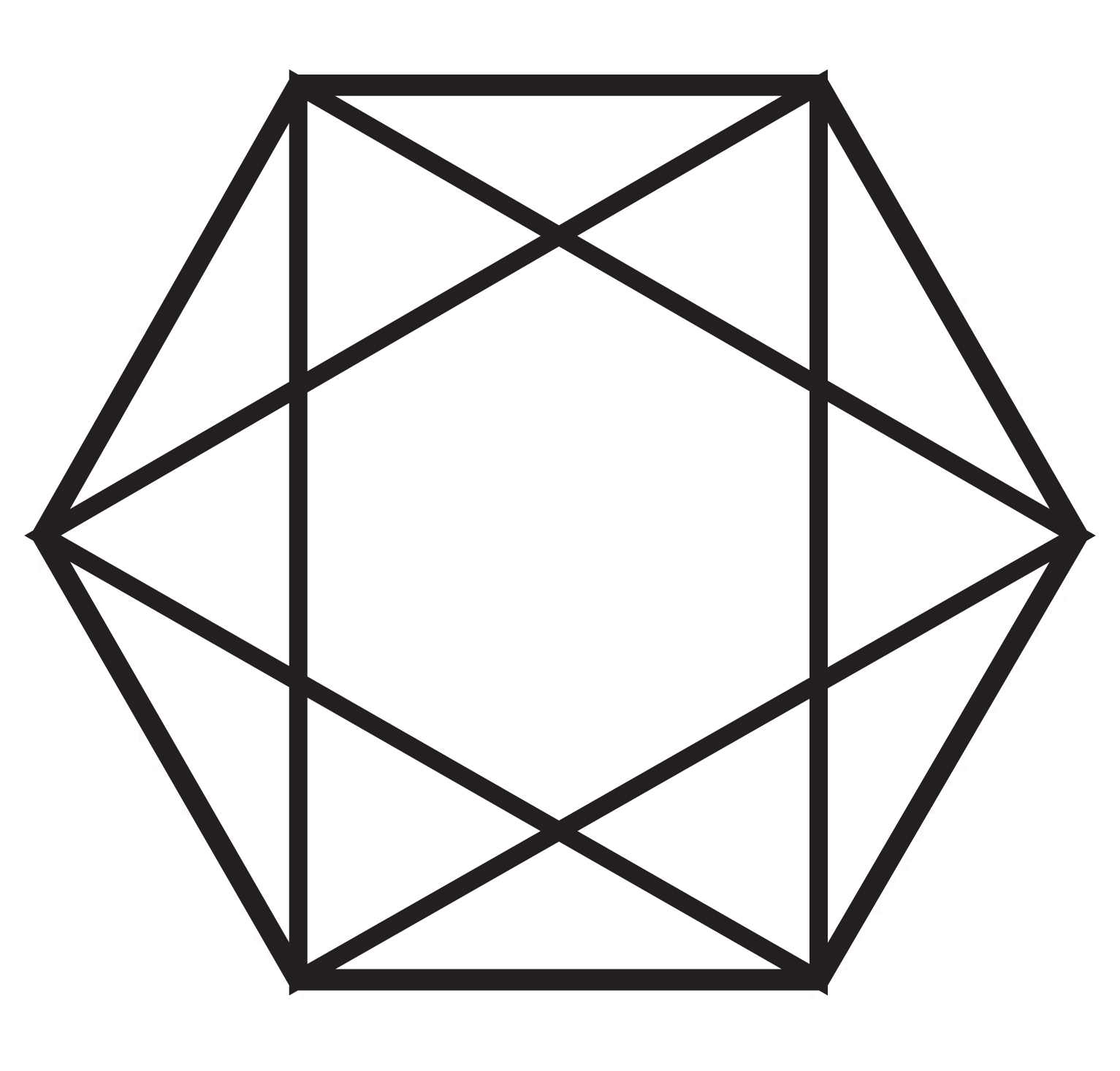 Iva kenaz magic symbols is the shape of a five pointed star found within or without the pentagon the same applies to hexagon and hexagram the six pointed polygon and star biocorpaavc