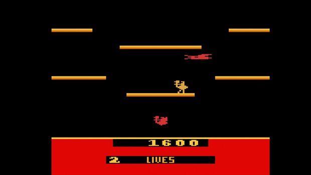 Atari 2600 Joust game