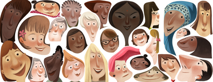 Logo Google Doodle Hari Ini