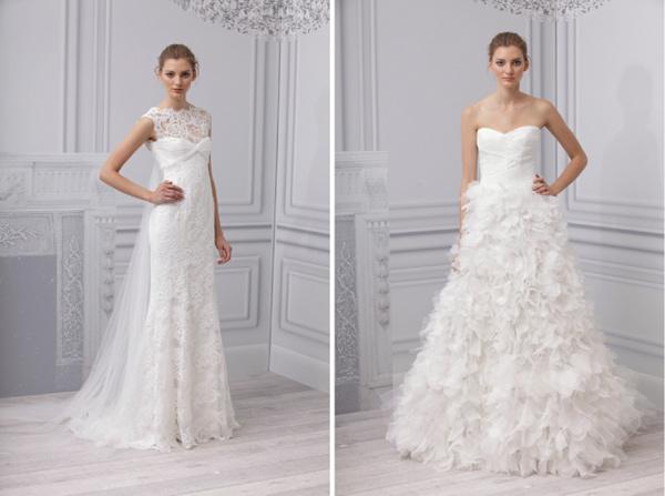 Monique lhuillier bridal spring collection