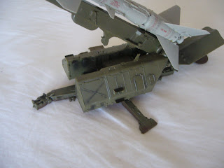 model of SAM missile