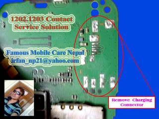 Solusi Masalah Nokia 1202 Lcd Blank Putih