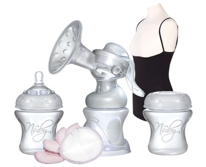 nuby manual breast pump instructions