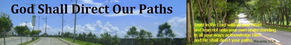 God Shall Direct Our Paths