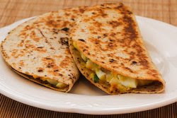 how to make a cheese quesadilla in a frying pan