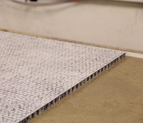 composite honeycomb reinforced concrete group alpha emerging materials. Black Bedroom Furniture Sets. Home Design Ideas