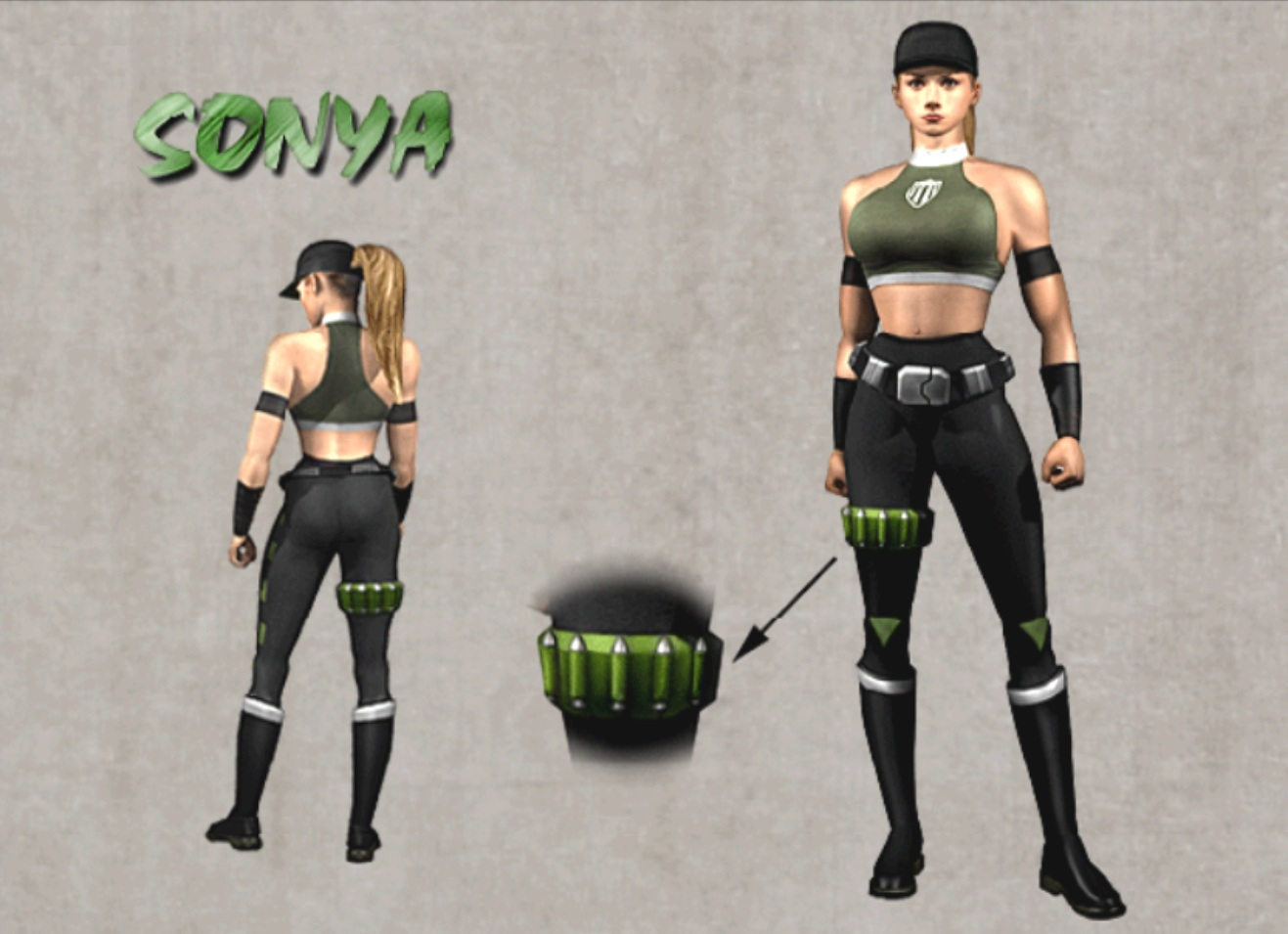 Mortal Kombat Sonya Costume | www.pixshark.com - Images ...