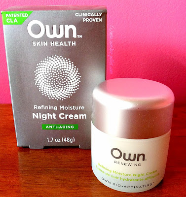 own skin health anti aging night cream