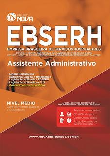 Apostila EBSERH GO 2015 - Assistente Administrativo.