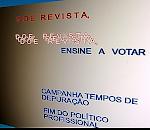 """CAMPANHA 'DOE REVISTA, ENSINE A VOTAR"""""""