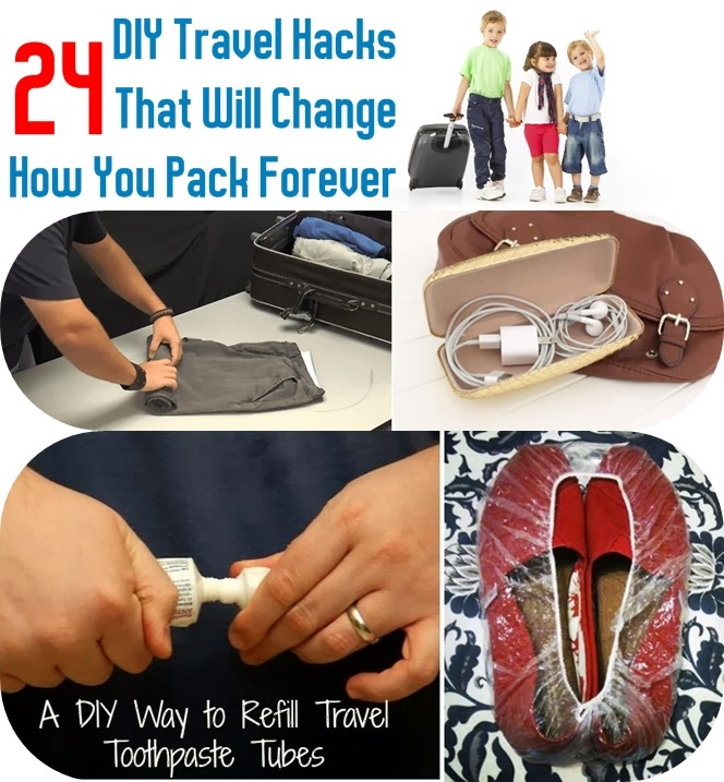 how to pack a baglife hacks