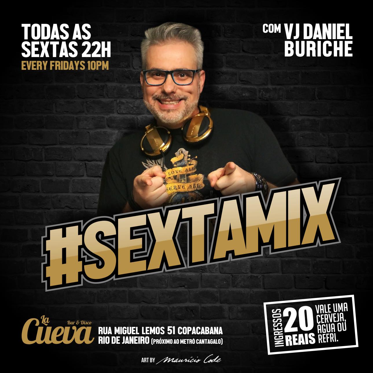 SEXTA - 09/08 - 23h