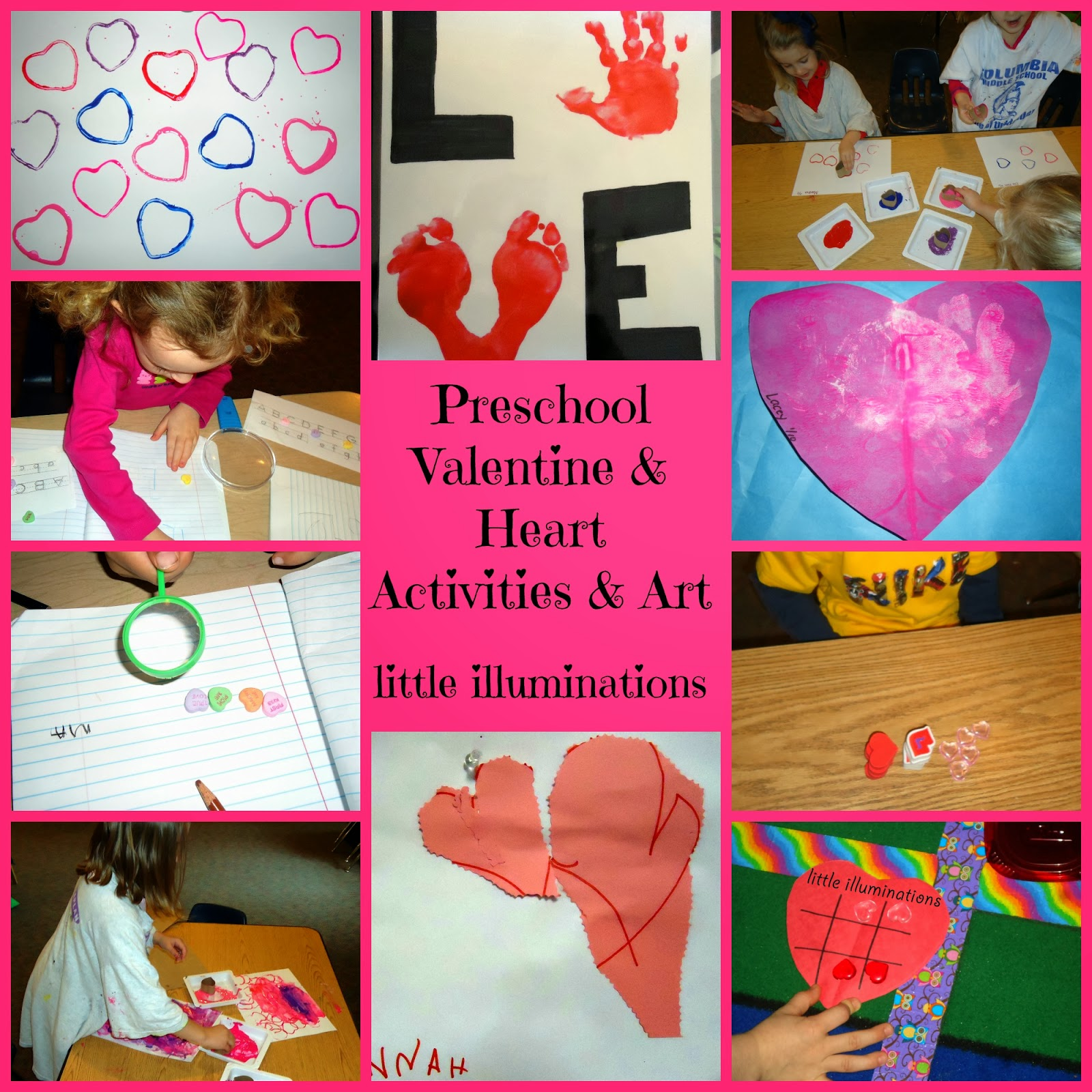 for Preschool crafts for february