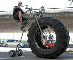 Monster Bike -Like a Boss Mechanical Engineers