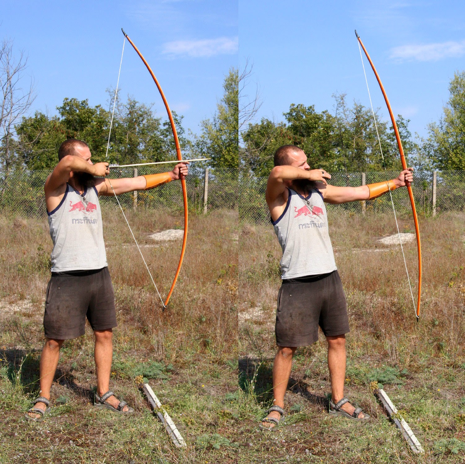 I got my longbow out