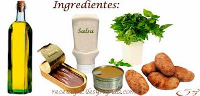 Ensalada de patatas - Ingredientes