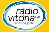 ouvir a Rádio Vitória AM 640,0 Vitória ES