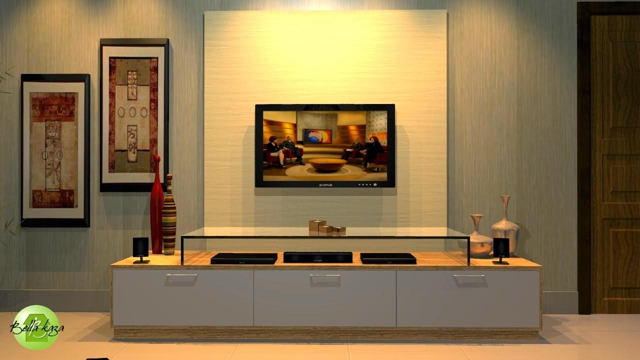 Integra O De Ambientes Sala De Estar E Jantar Bella Kaza  -> Sala Moveis Planejado