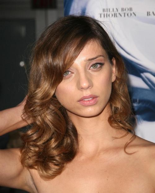Angela Sarafyan Hairstyles