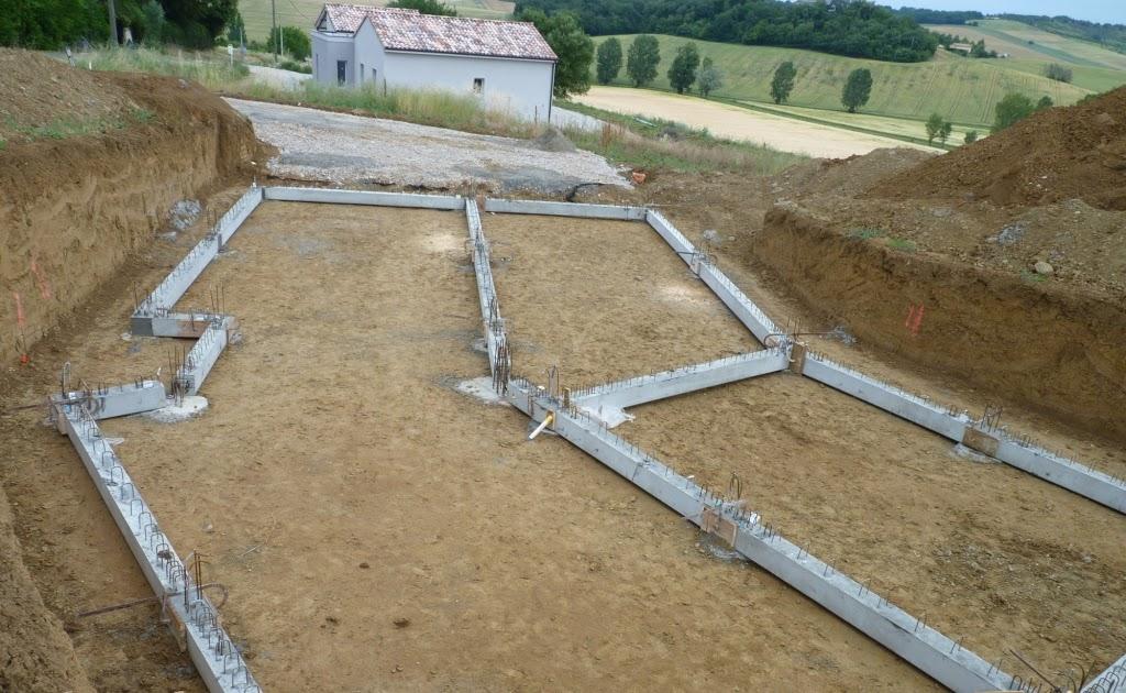 Notre 1ere maison 4 dalle du sous sol for Etude de sol avant construction