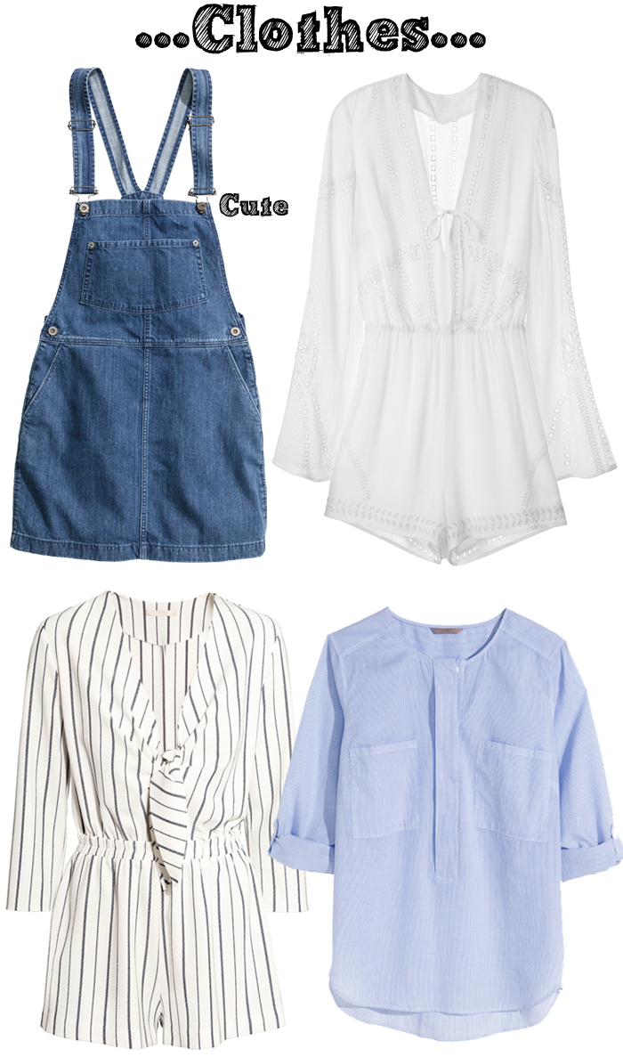 H&M Preview May and June: Clothes, Shoes, Accessories