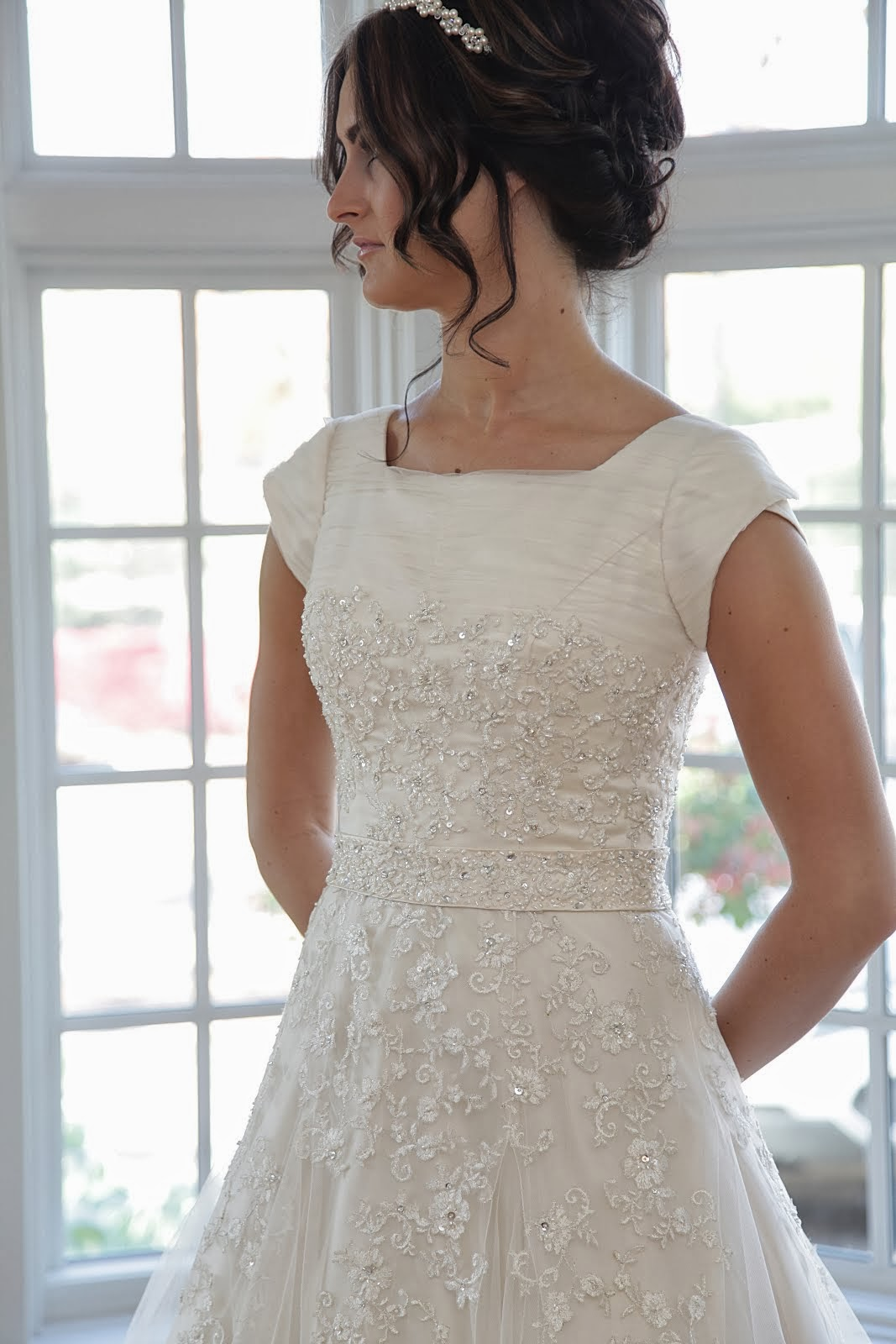 1950s Vintage Inspired Wedding Dress